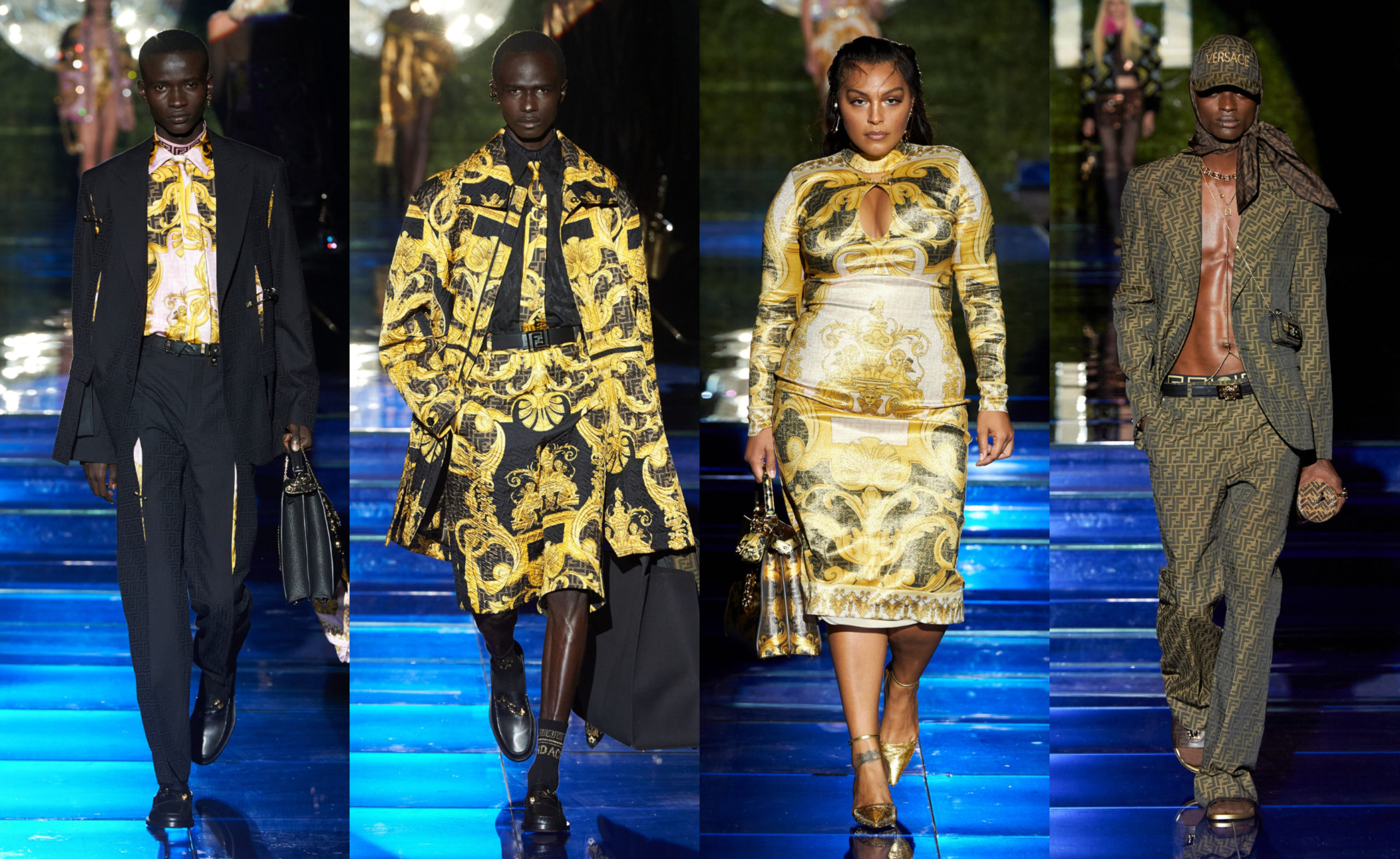MFW: Versace by Fendi Spring/Summer 2022 Collection