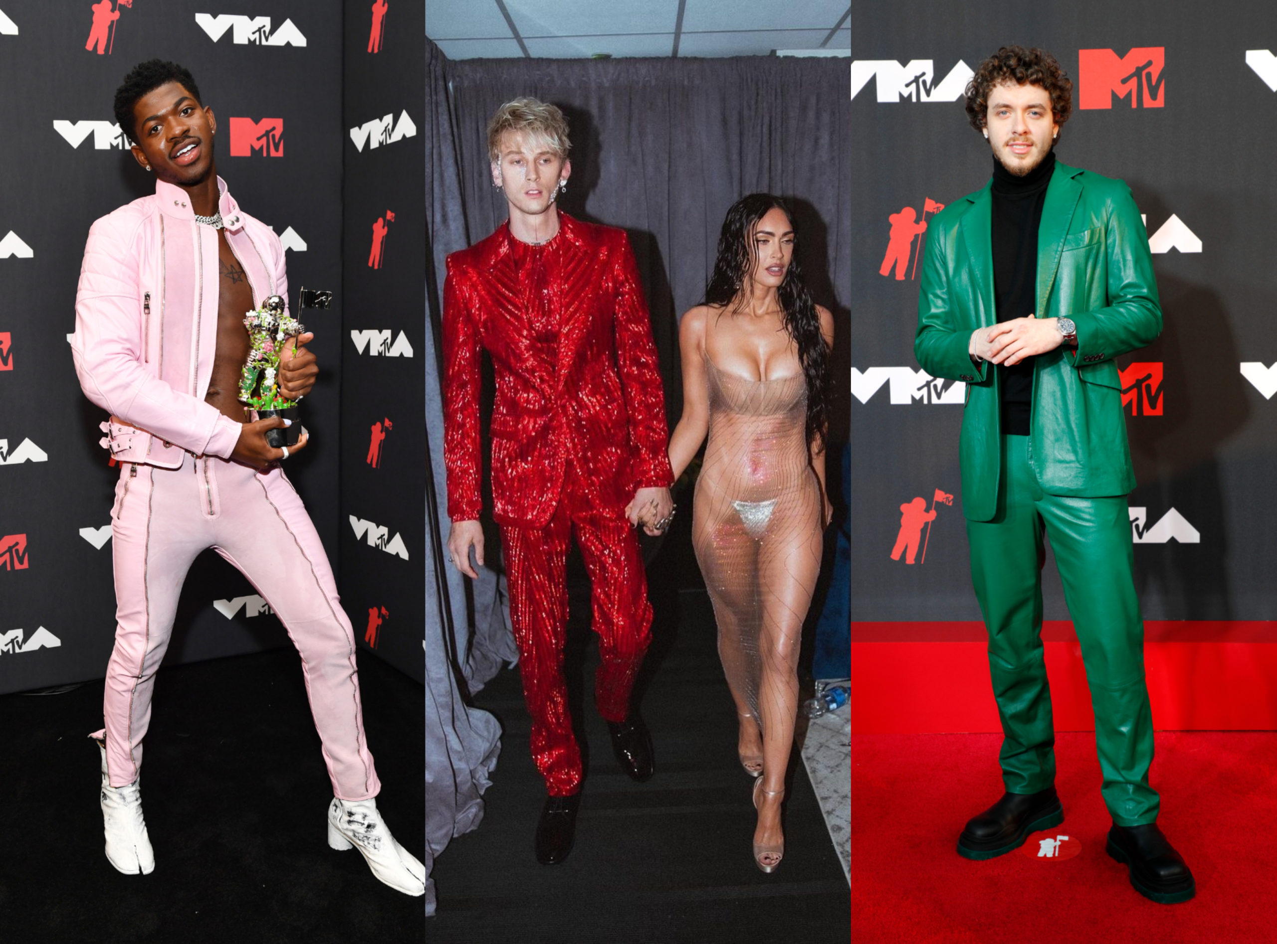 SPOTTED: Jack Harlow, Lil Nas X and More at the VMA Awards 2021