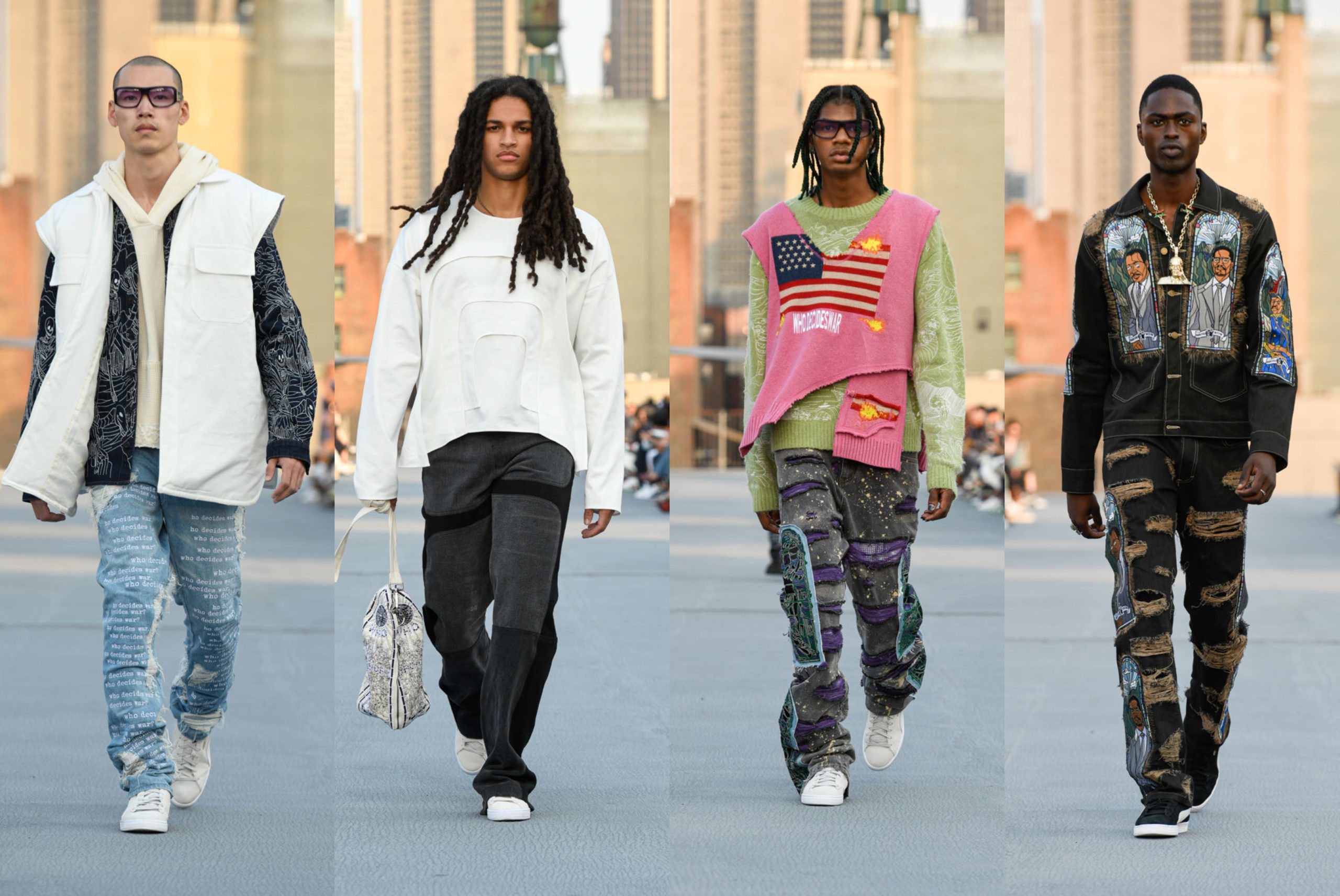 NYFW: WHO DECIDES WAR Spring/Summer 2022 Collection