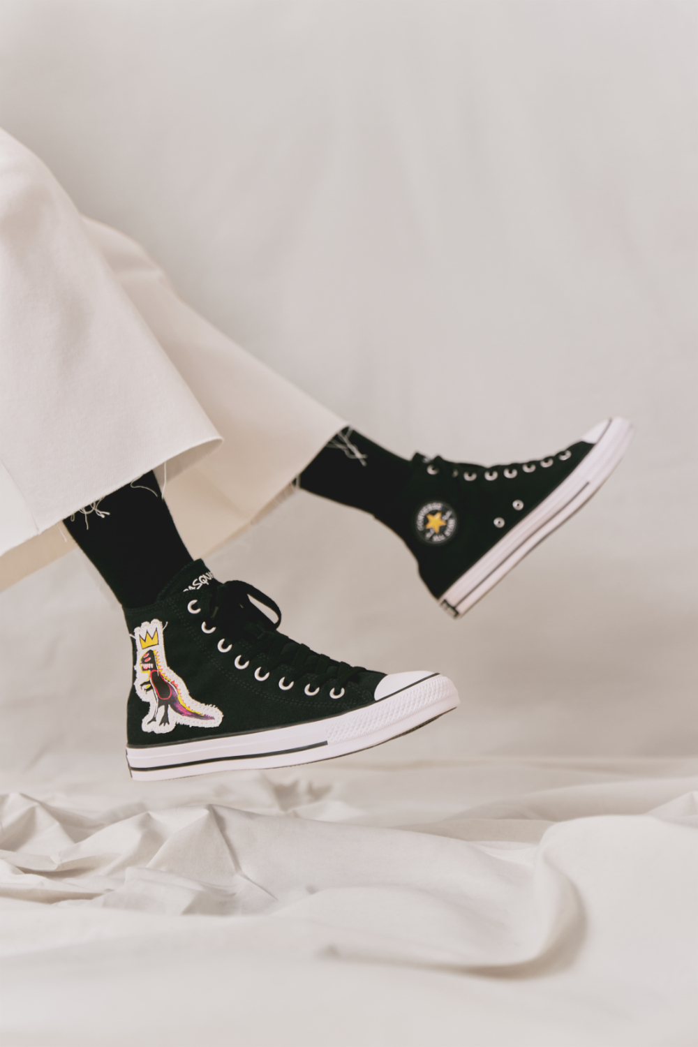 Converse Celebrates Jean-Michel Basquiat's Legacy for Latest Collection