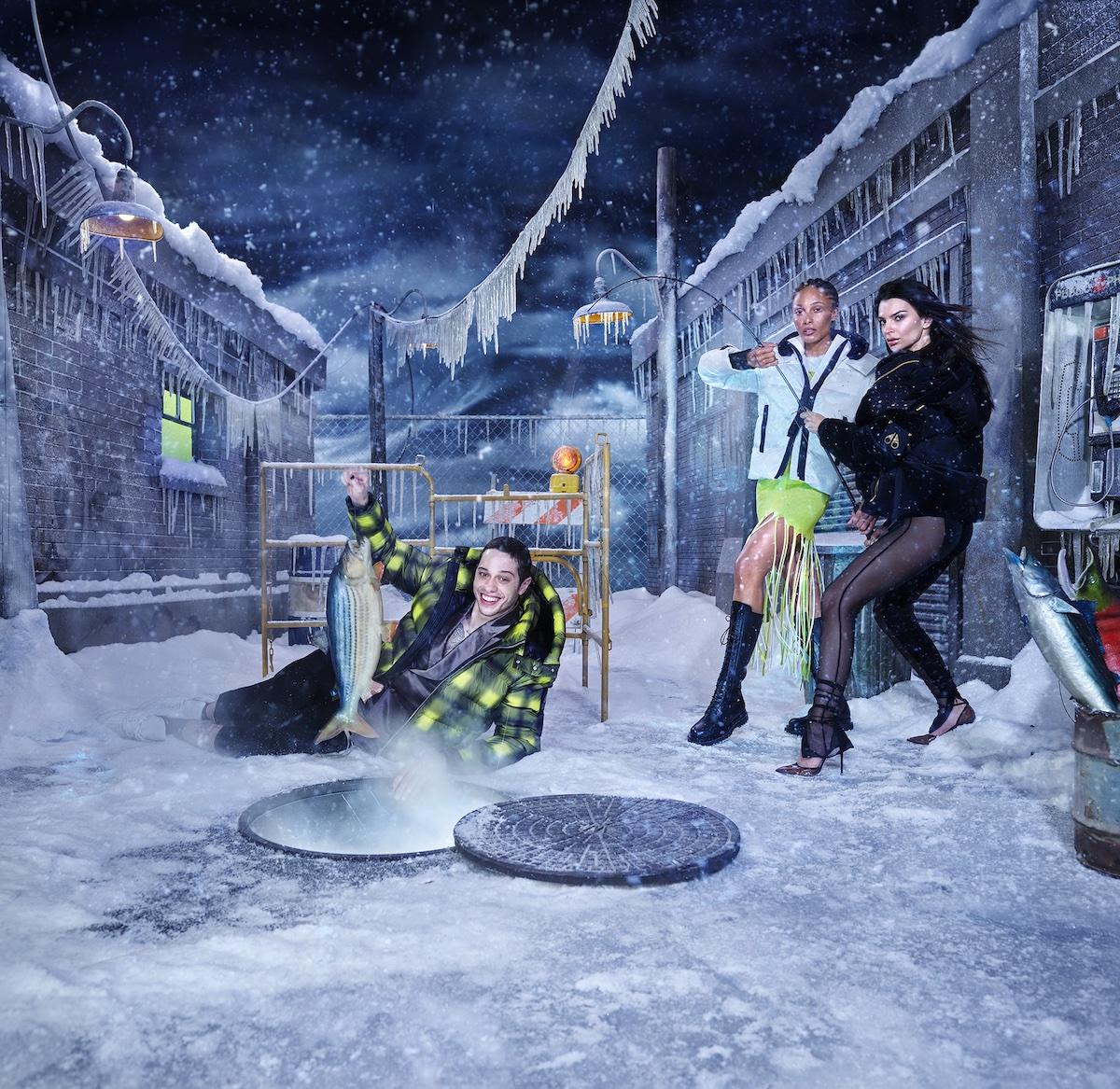 Moose Knuckles Debut AW21′ Campaign ft. Pete Davidson, Adwoa Aboah & Emily Ratajkowski