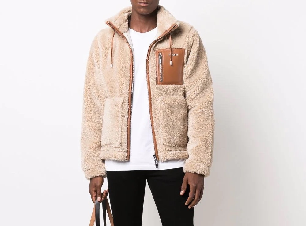 PAUSE or Skip: Axel Arigato Panelled Teddy Jacket
