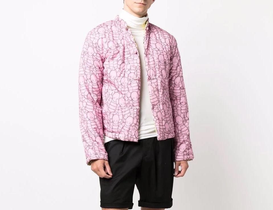 PAUSE or Skip: Comme Des Garçons Shirt x KAWS Reversible Padded Jacket