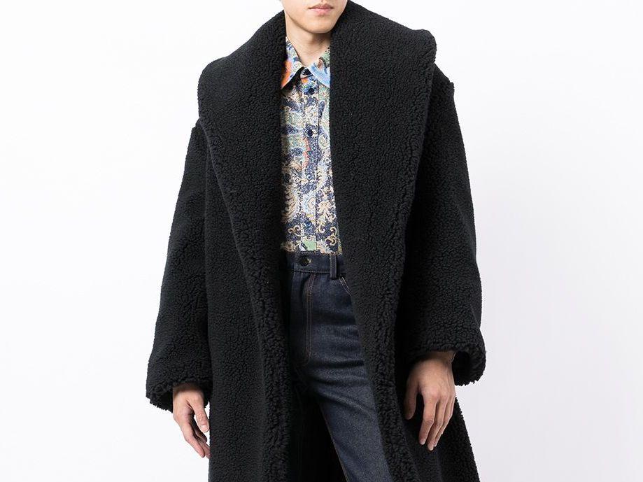 PAUSE or Skip: Casablanca Single Breasted Shearling Coat