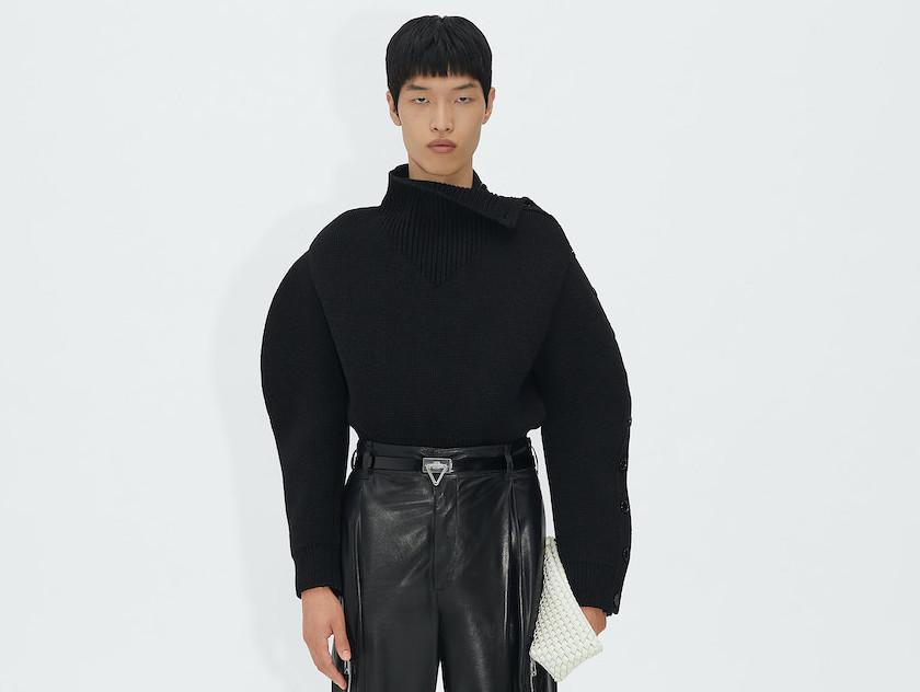 PAUSE or Skip: Bottega Veneta Shetland Wool Jumper