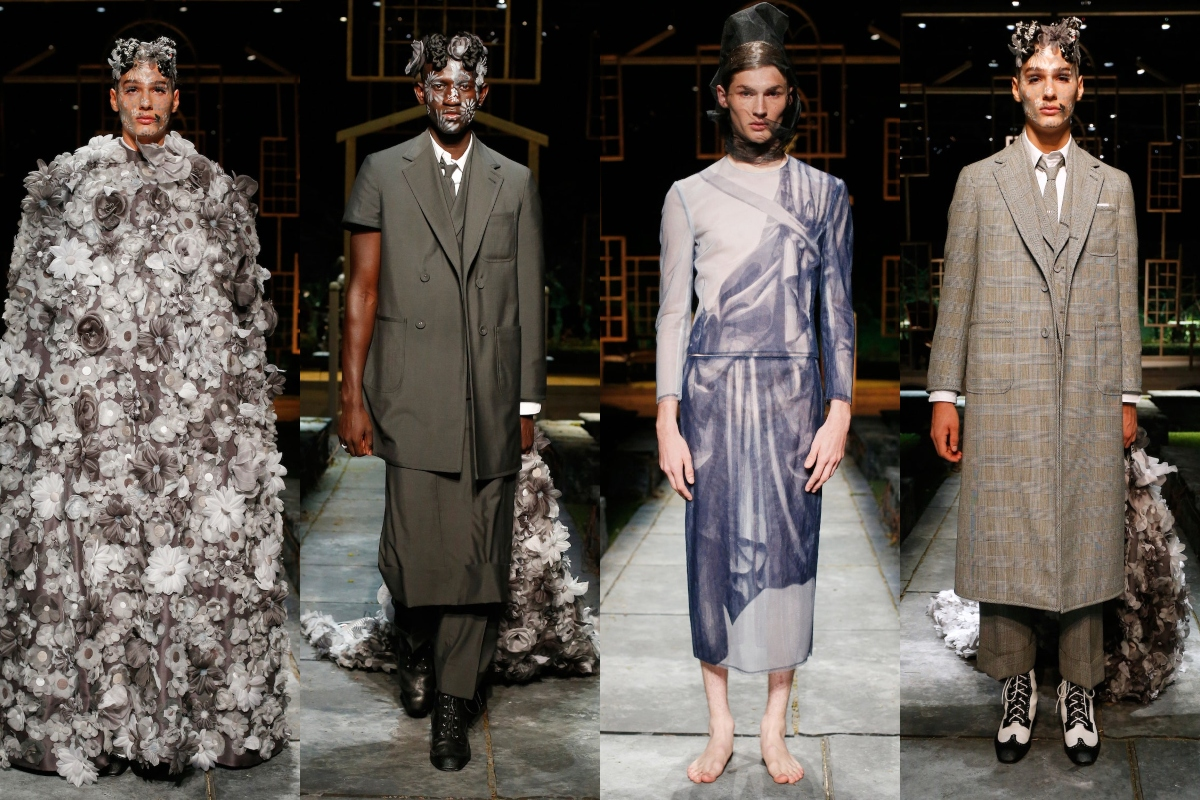NYFW: Thom Browne Spring/Summer 2022 Collection