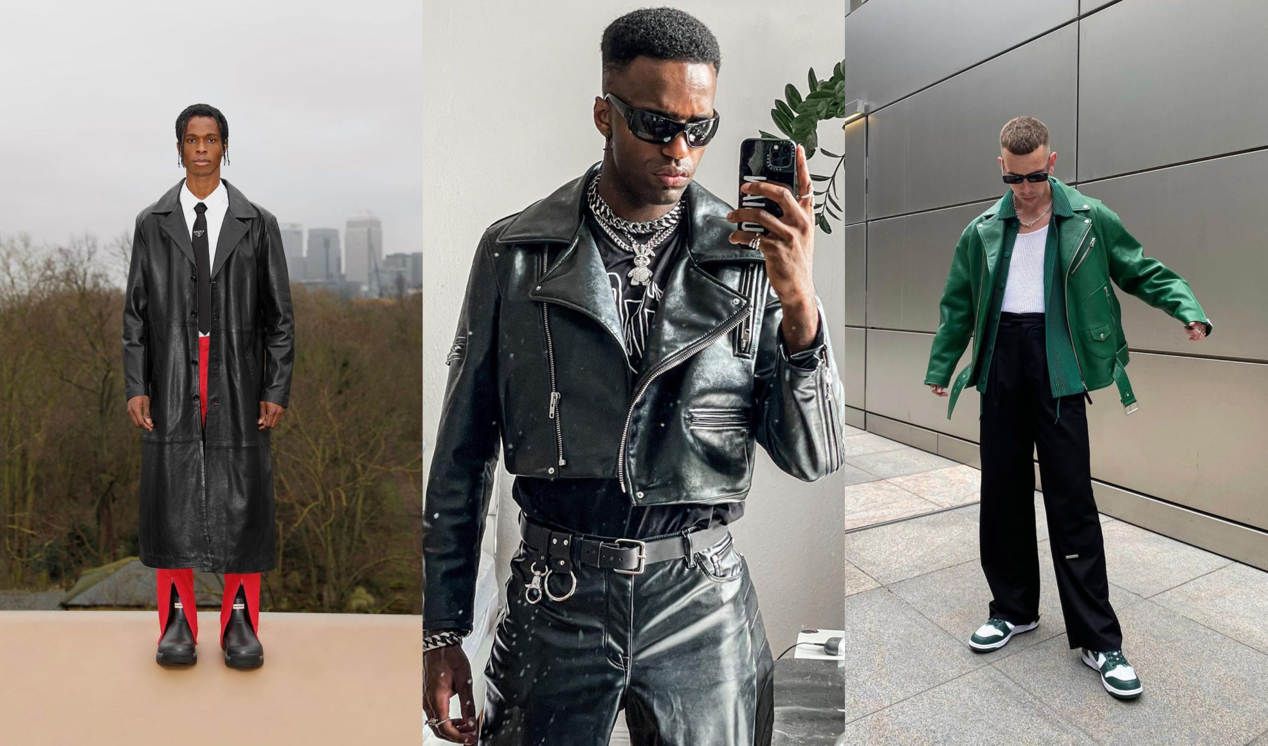 PAUSE Highlights: Rocking Leather Jackets