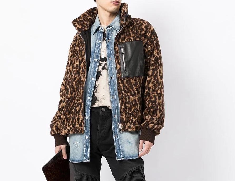 PAUSE or Skip: AMIRI Leopard Print Bomber Jacket
