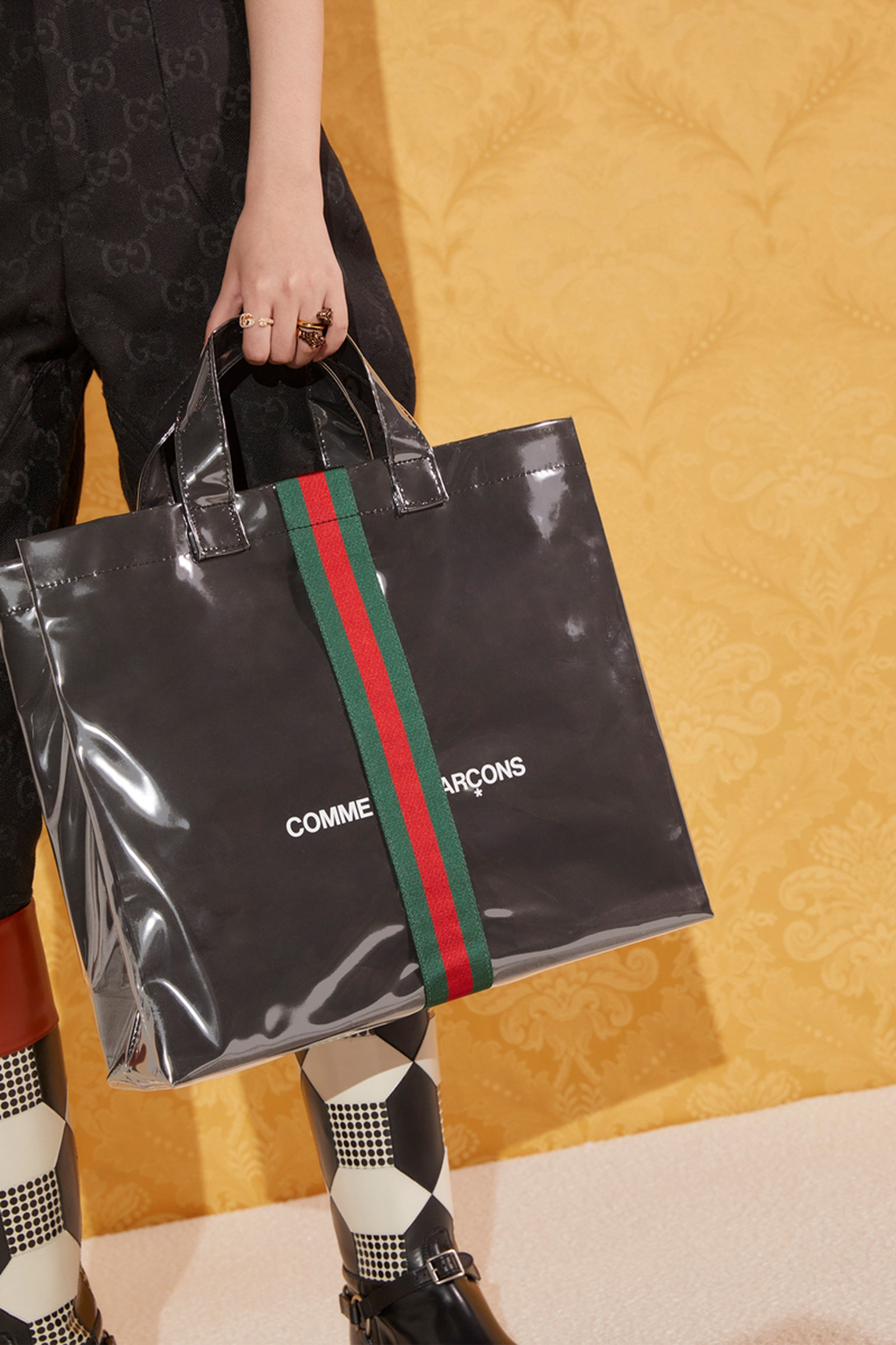 Gucci and COMME des GARCONS' Latest Tote Bag Might Be Their Last