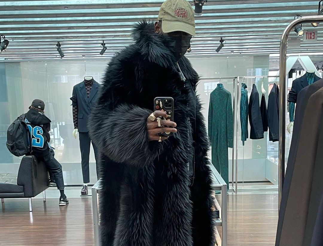 SPOTTED: ASAP Nast Goes Shopping in Prada