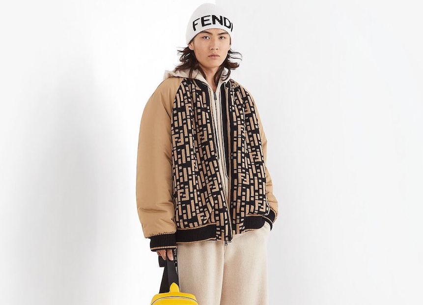 PAUSE or Skip: Fendi Reversible Knitted Bomber