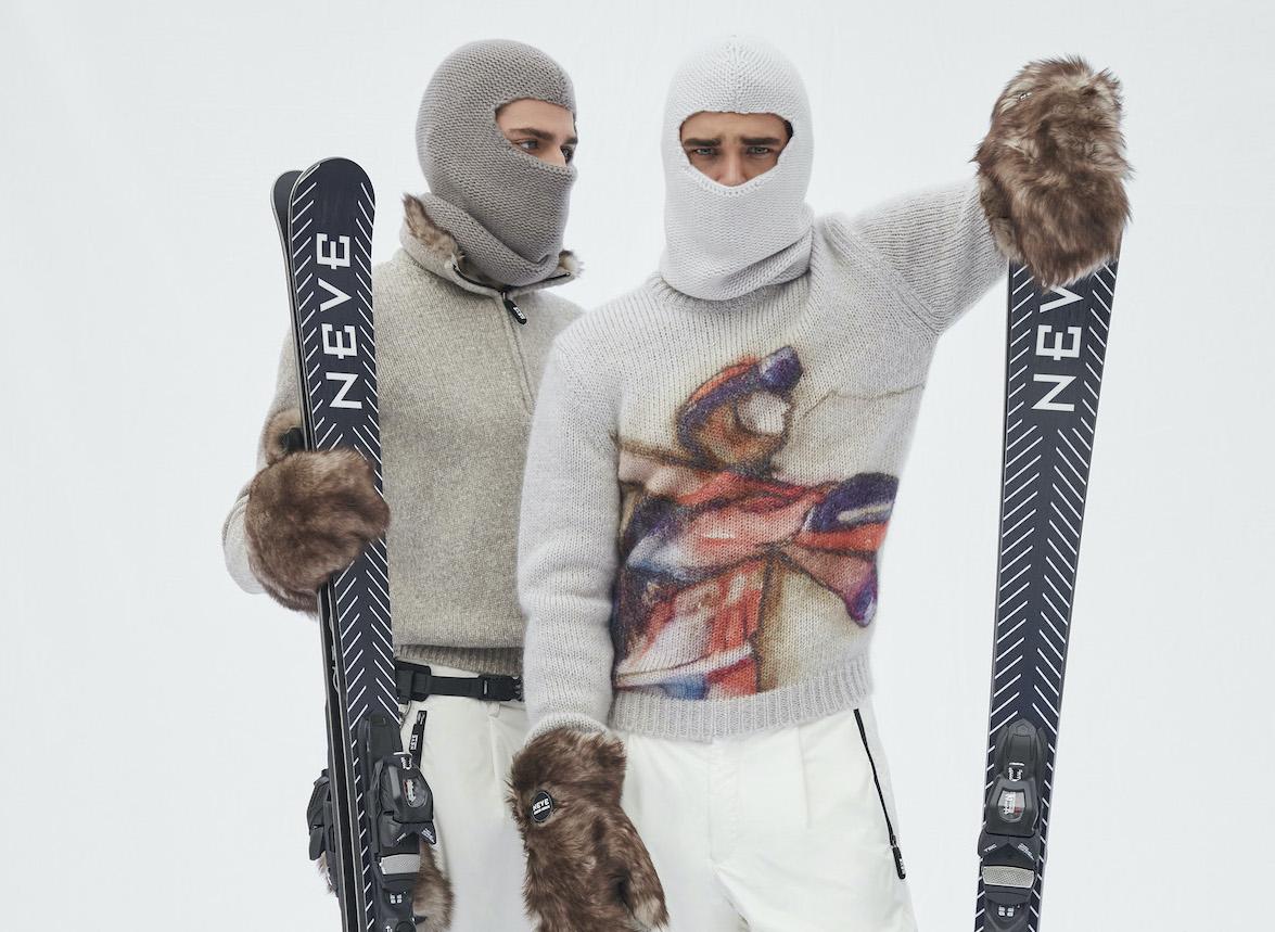 Giorgio Armani Unveil Winter Ready 'Neve' Collection